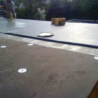 EPDM Rubber 060 Installation