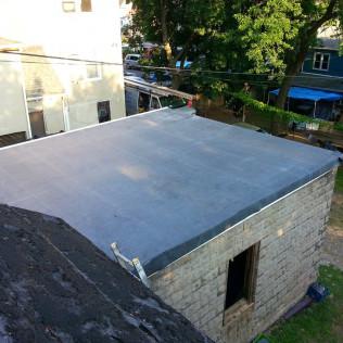 Flat Roof EPDM Installation & Parking Garage Reconstruction