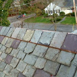 Damaged Slate Ridge Repair