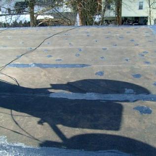 Flat Roof EPDM Patch Repair