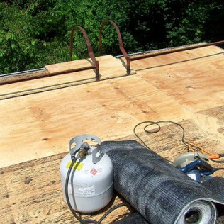 Plywood Sheathing Flat Roof Repair