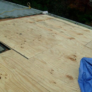 Plywood Sheathing Repair And Installation
